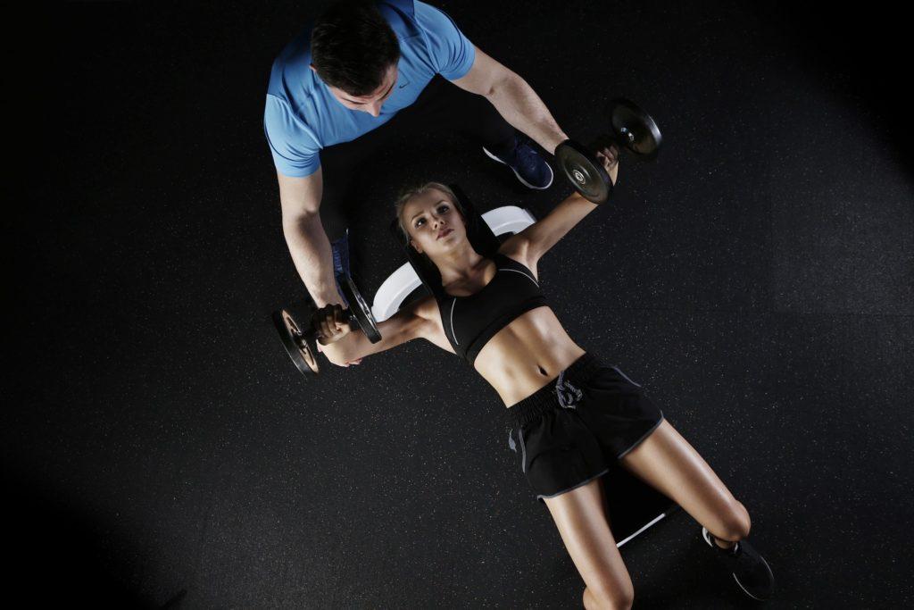 Osobní fitness trenér